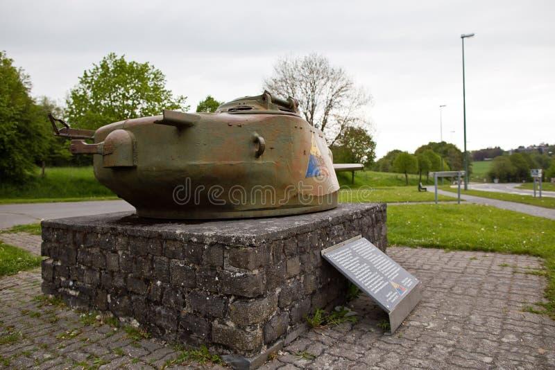 Памятник армии США в Bastogne, Бельгии стоковое изображение rf