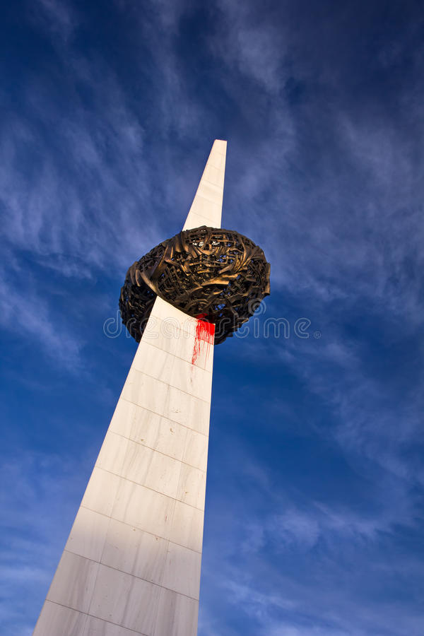 Памятник Бухареста заново родившийся стоковые фото