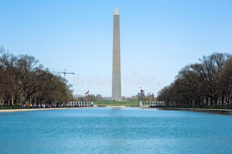 Памятник Вашингтона стоковое изображение rf