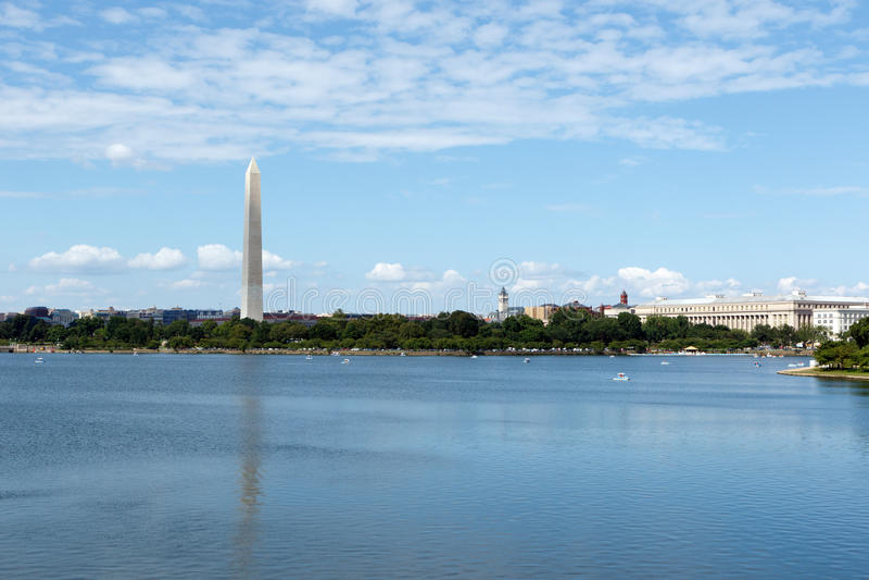 Памятник Вашингтона стоковые фотографии rf