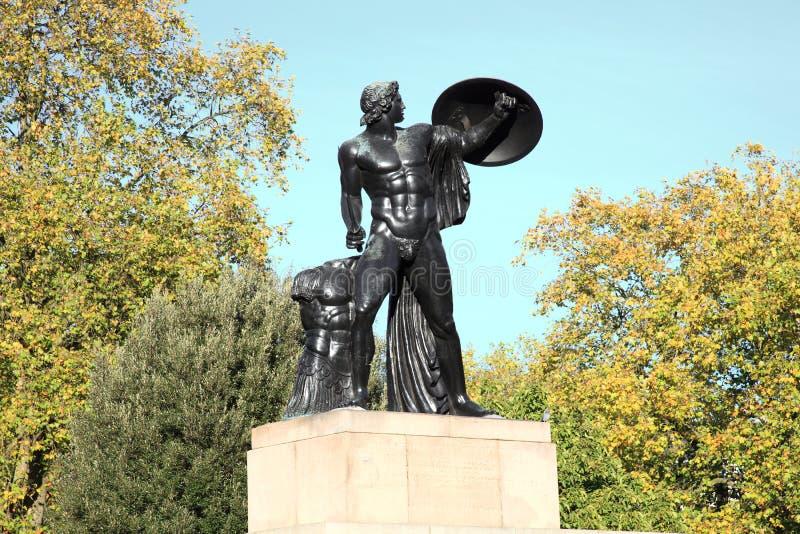 Памятник Веллингтона, Ахилл стоковое фото