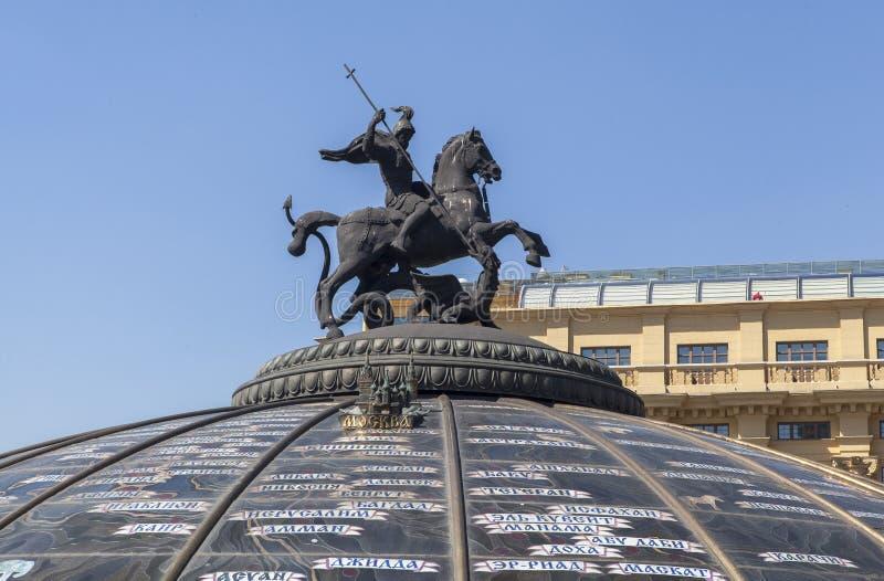 Памятник в Москва, России стоковая фотография rf