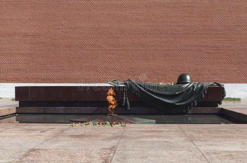 Памятник в Москва, России стоковые фотографии rf