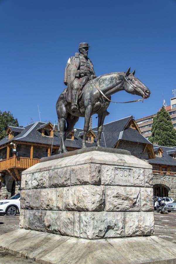 Памятник генералу Джулио Argentino Roca стоковое изображение