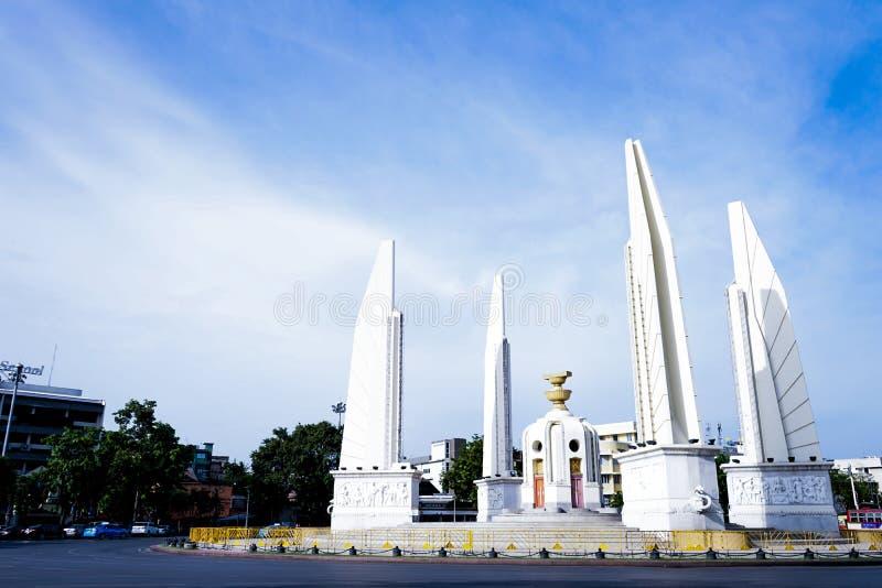 Памятник демократии Таиланда стоковые фото