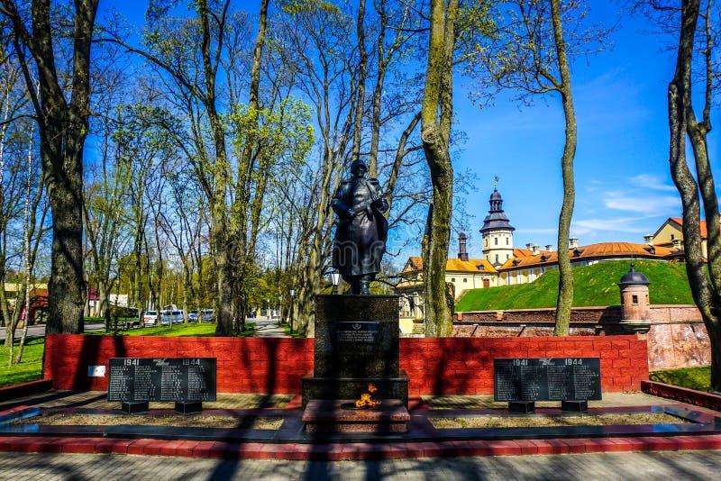 Памятник замка Nesvizh стоковая фотография rf