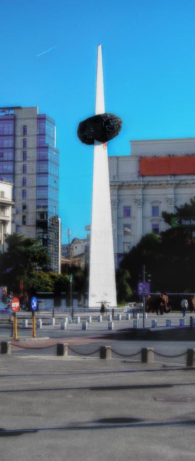 Памятник заново родившийся стоковая фотография