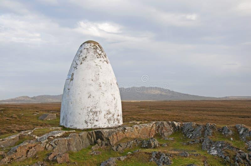 памятник Ирландии alock коричневый стоковое фото rf