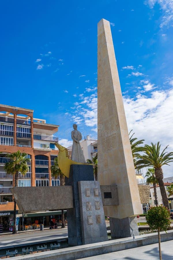 Памятник короля Jaume i стоковое фото rf
