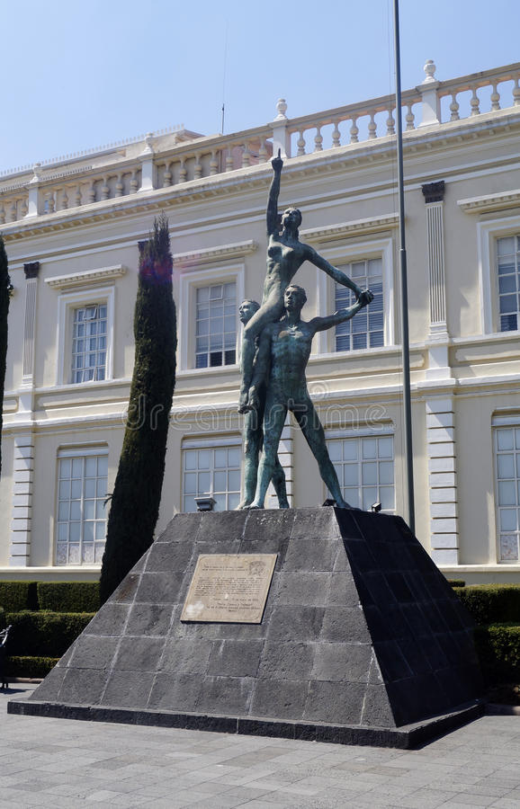 Памятник к автономии университета стоковое изображение