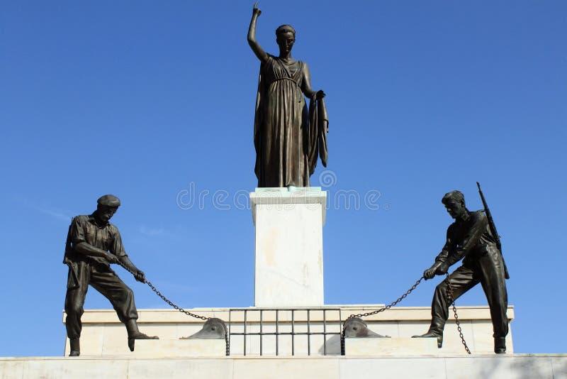 Памятник к вольности стоковая фотография