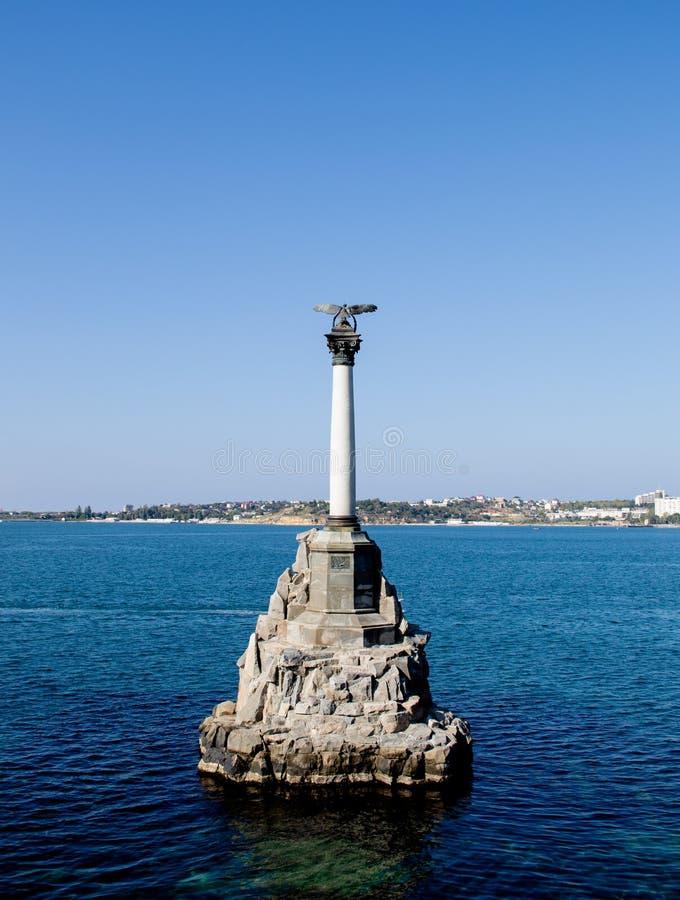 Памятник к морякам стоковое фото