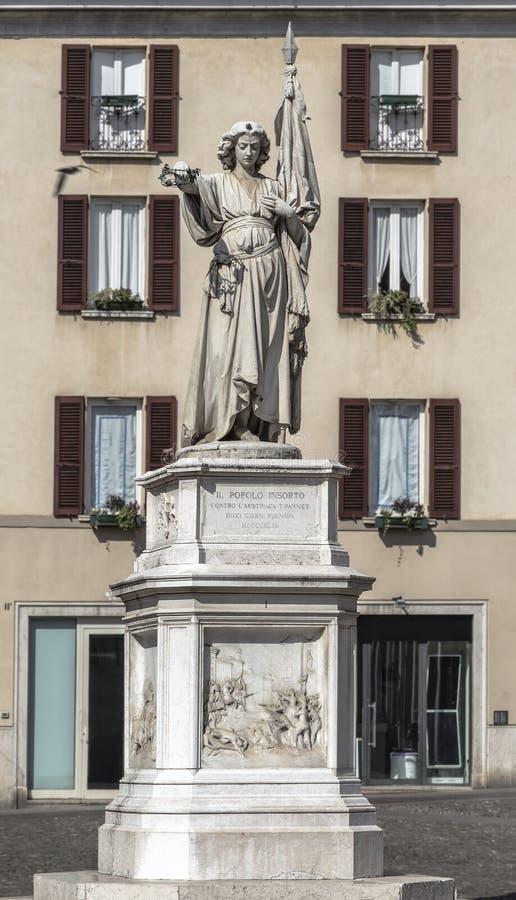 Памятник к повстанческим людям стоковые изображения rf