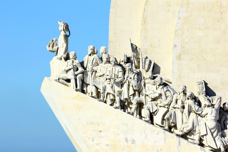 Памятник к португальским открытиям моря. Лиссабон, Португалия стоковая фотография rf