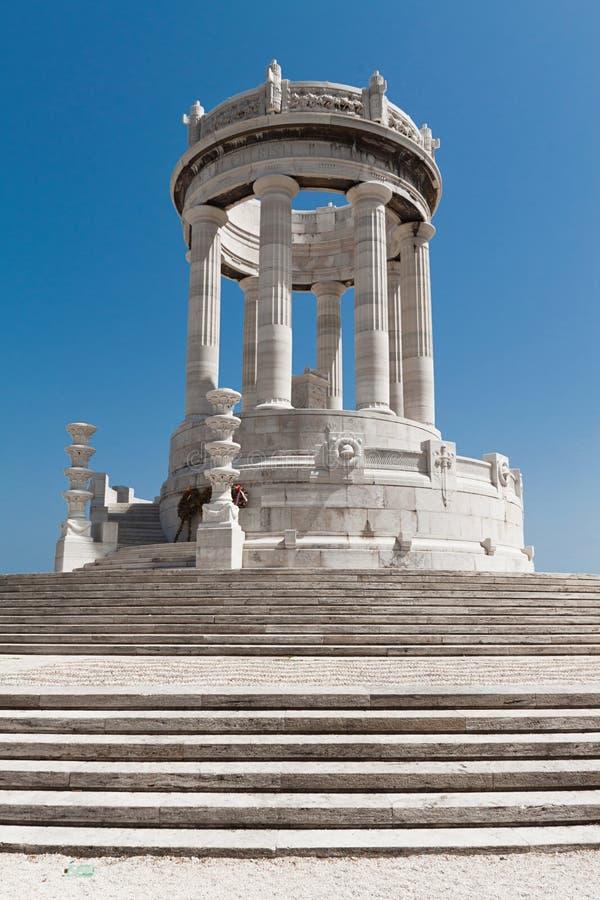 Памятник к упаденное стоковое фото