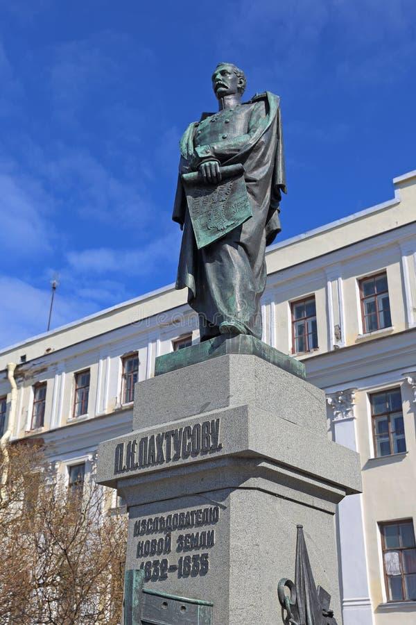 Памятник к ученому и путешественнику русских войск s стоковое фото rf
