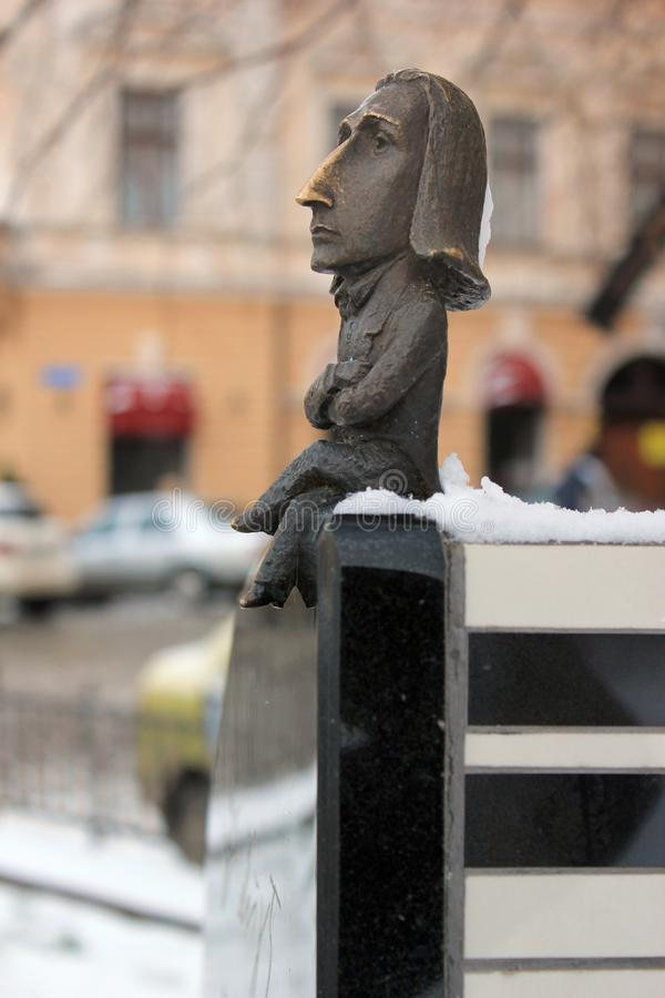 Памятник к Франц Лист стоковые изображения rf