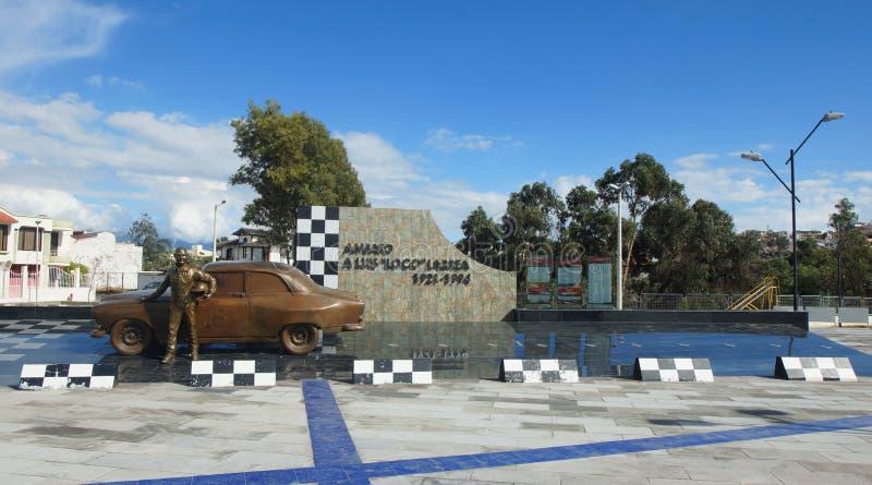 Памятник к Larrea ` ` Луис шальному 1921-1994 стоковые изображения