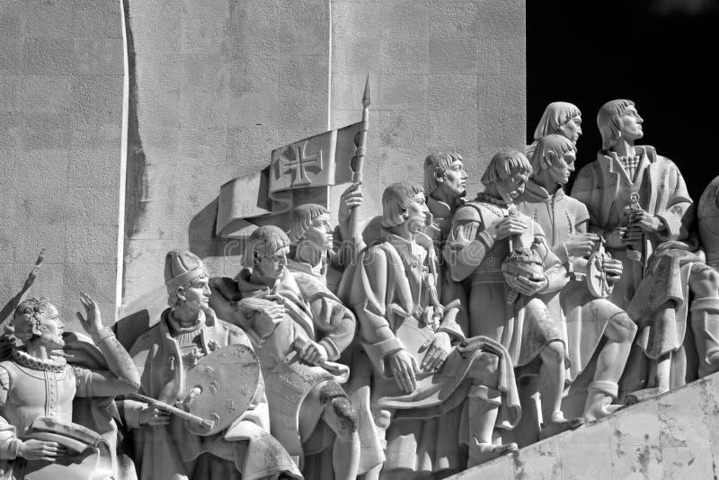 Памятник Лиссабона к открытиям стоковые фото
