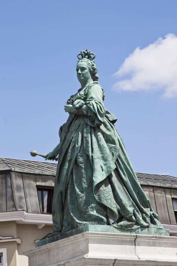 Памятник Марии Терезы, Клагенфурт, Австрия стоковые изображения