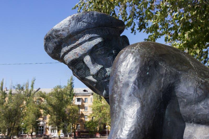 Памятник массовое захоронение моряков участников деятельности посадки стоковое изображение rf