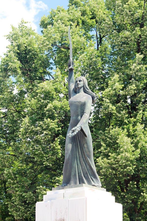 Памятник независимости в Cetinje, Черногории стоковая фотография
