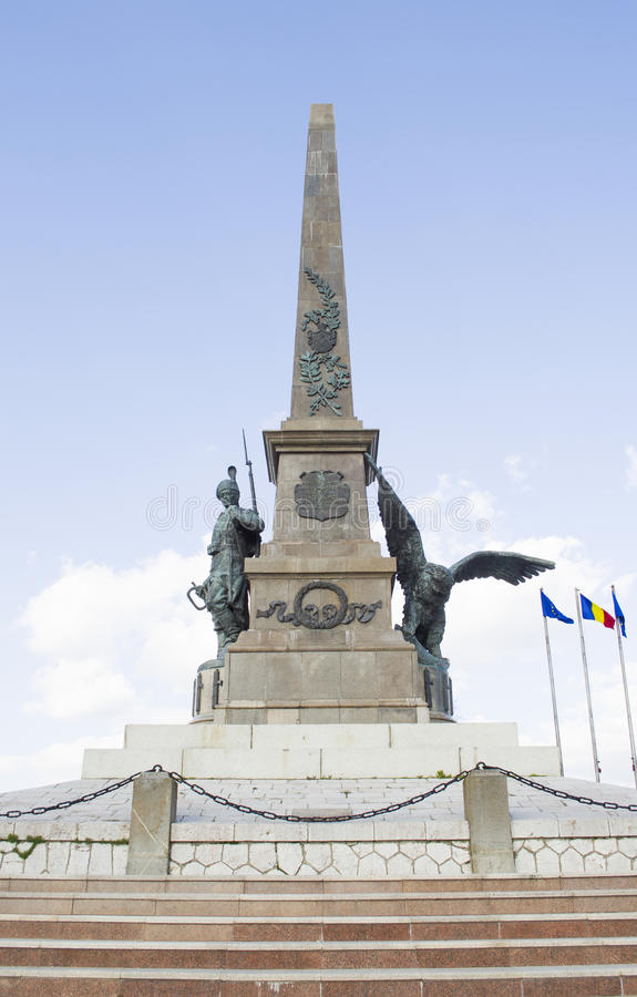 Памятник независимости стоковое фото rf
