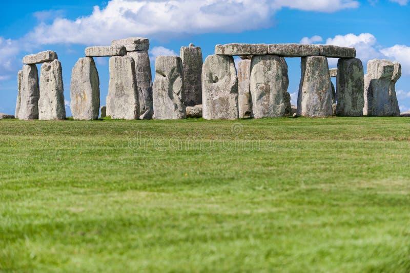 Памятник около Солсбери, Уилтшир Стоунхенджа доисторический, Engla стоковое фото