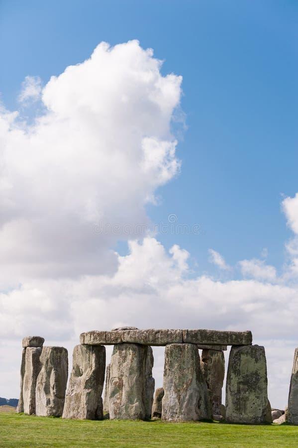 Памятник около Солсбери, Уилтшир Стоунхенджа доисторический, Engla стоковые изображения rf
