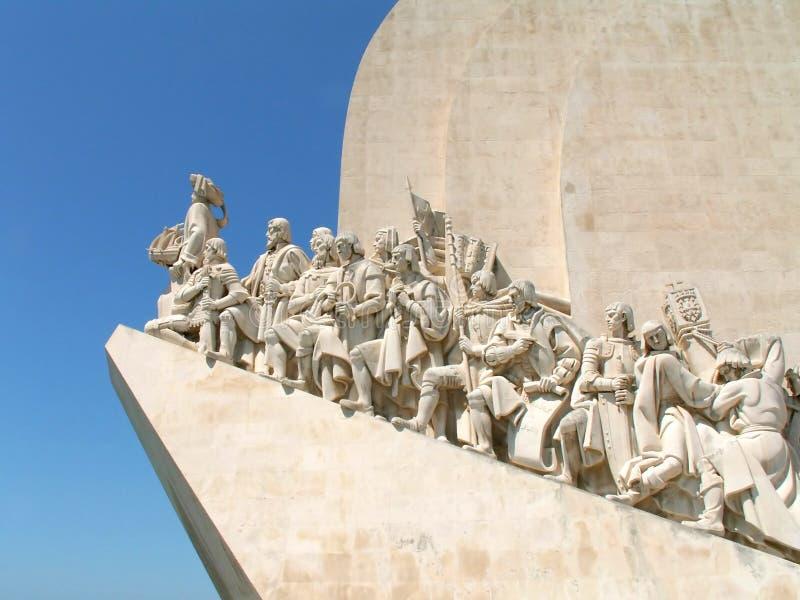 памятник открытия стоковые изображения rf