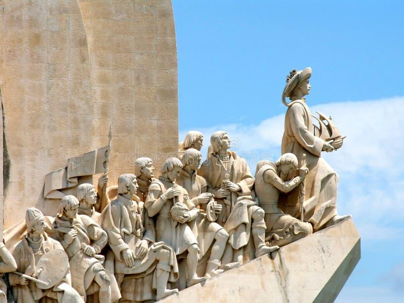 памятник открытия стоковое фото rf