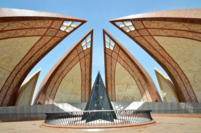 Памятник Пакистана стоковое изображение