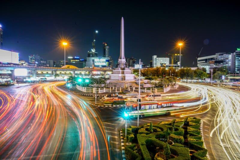 Памятник победы на Бангкоке, Таиланде стоковое изображение