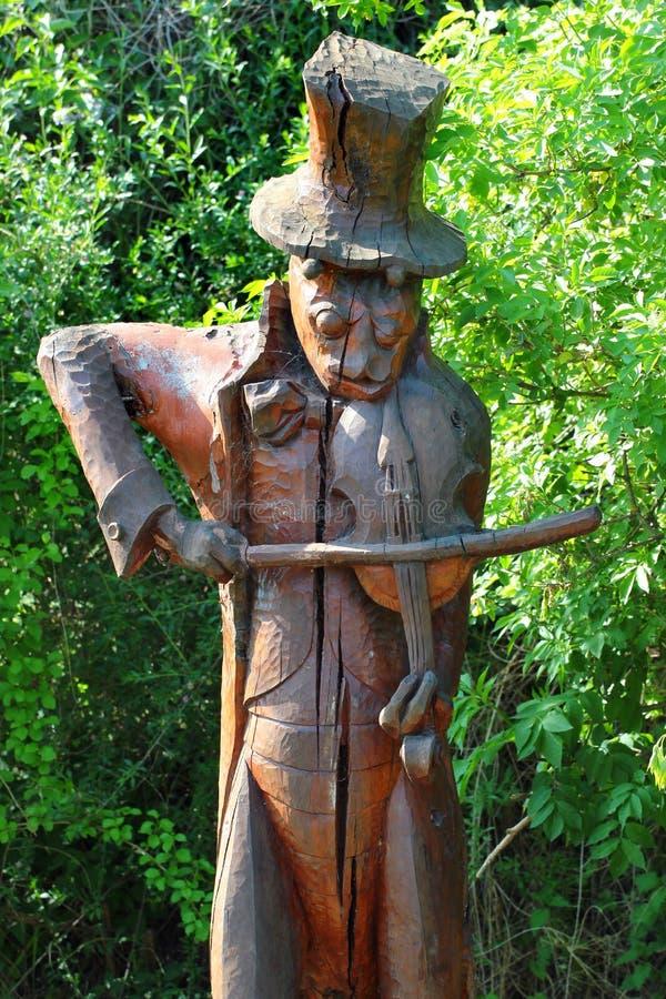 Памятник показывая сверчка в Szczebrzeszyn, Польше стоковые фотографии rf