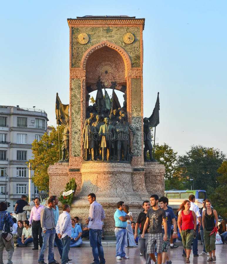 Памятник республики стоковые изображения rf