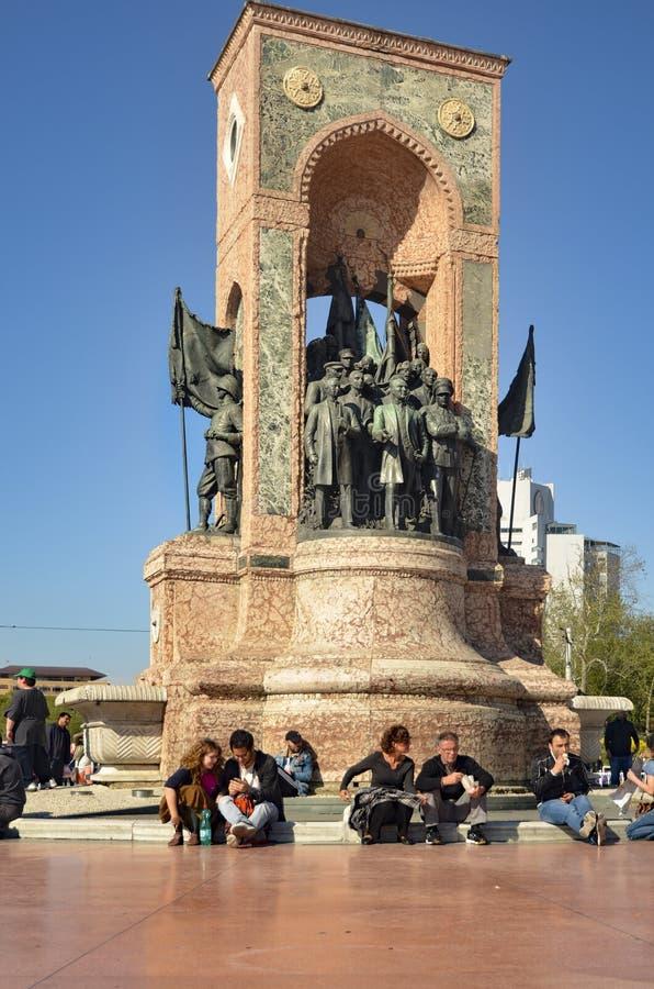 Памятник республики стоковая фотография rf