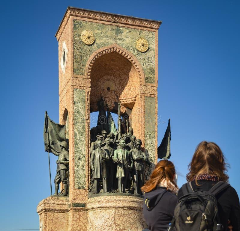 Памятник республики стоковые фотографии rf