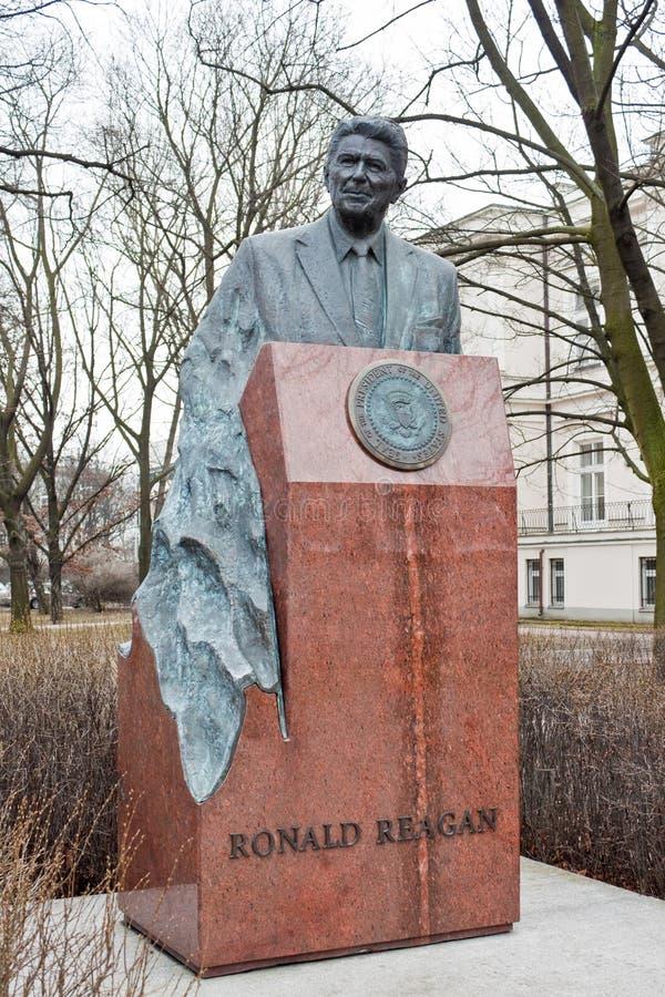 Памятник Рональда Рейгана стоковое фото