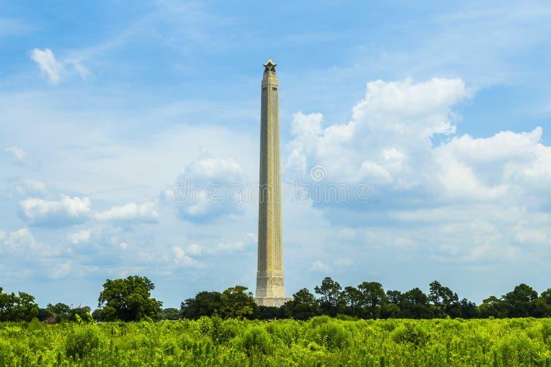 Памятник Сан Jacinto на славном стоковая фотография