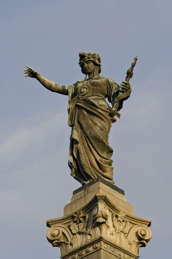 Памятник свободы в уловке стоковое изображение rf