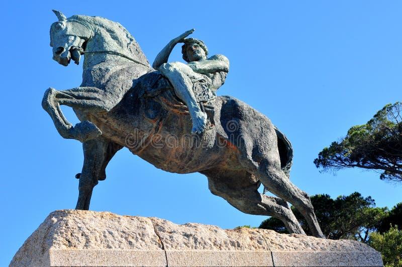 Памятник Сесиля Родоса - Кейптаун, Южная Африка стоковые изображения rf