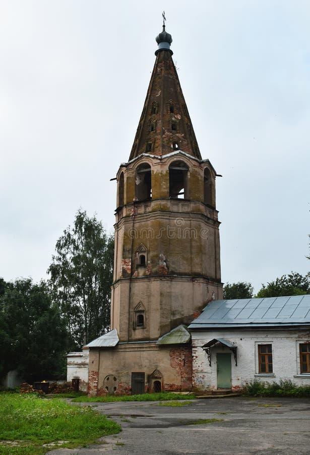 Памятник старого русского собора Znamensky архитектуры стоковые изображения rf