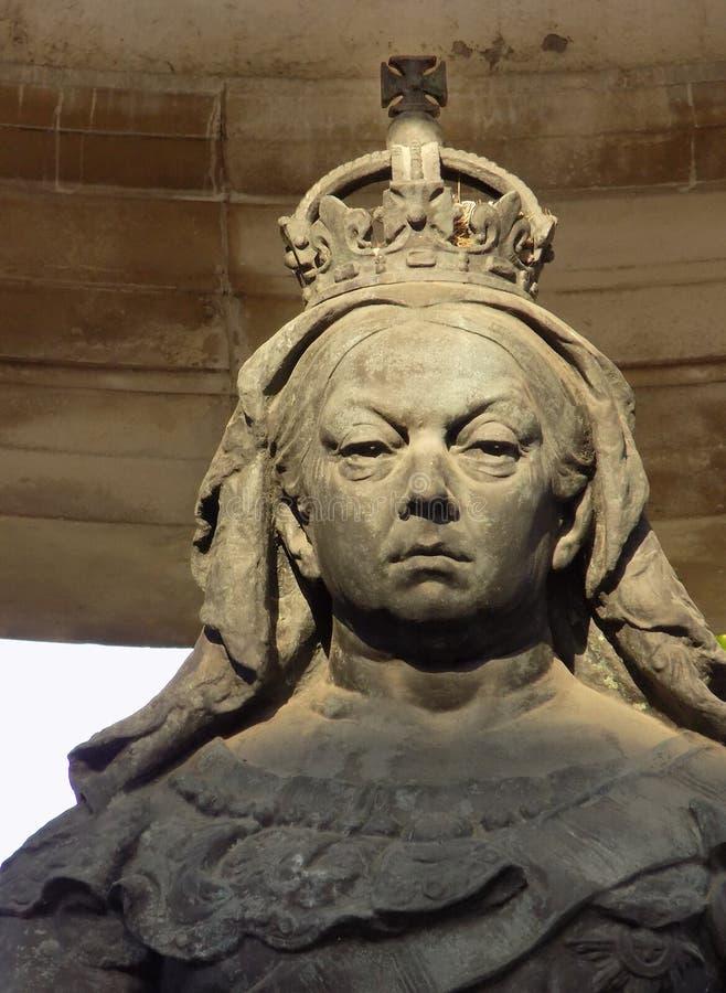 Памятник ферзя Виктории в Ливерпуле стоковые изображения rf
