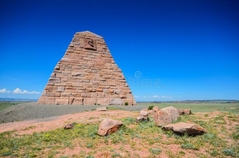 Памятник Ames - Laramie, Вайоминг стоковые фотографии rf