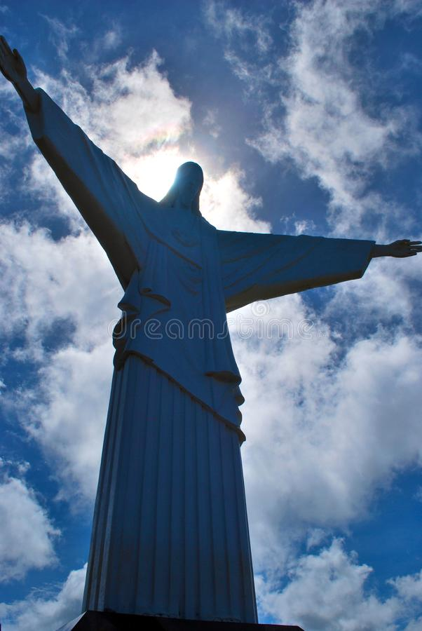 памятник christ jesus стоковые изображения