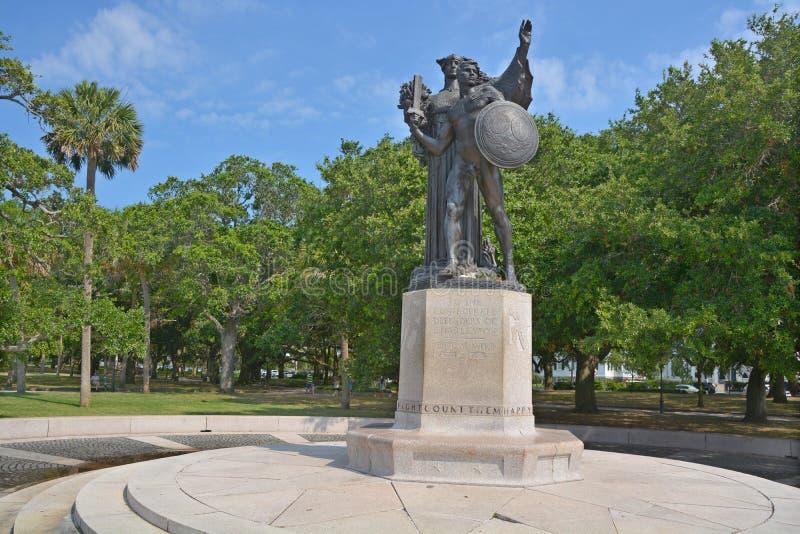 Памятник Confederacy стоковое фото rf