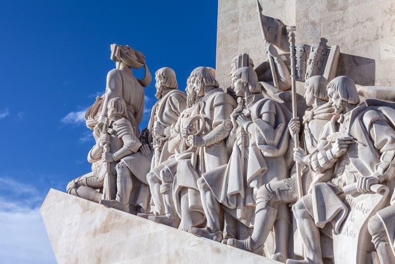 Памятник dos Descobrimentos Padrao стоковая фотография rf