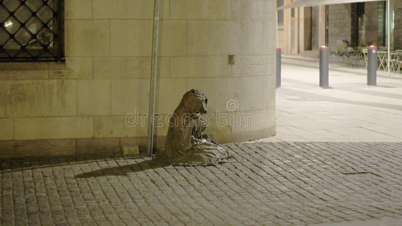 Памятник Fox в Стокгольме стоковое изображение