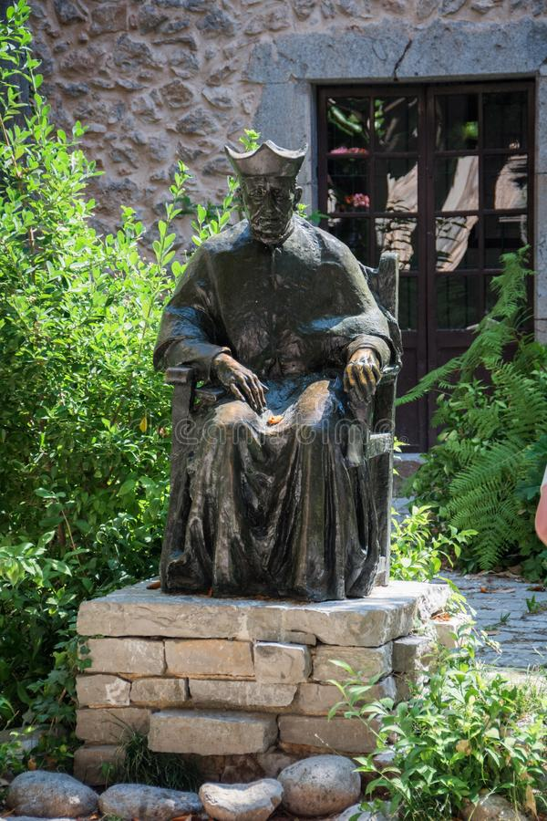 Памятник Joaqim Rossello стоковые изображения rf