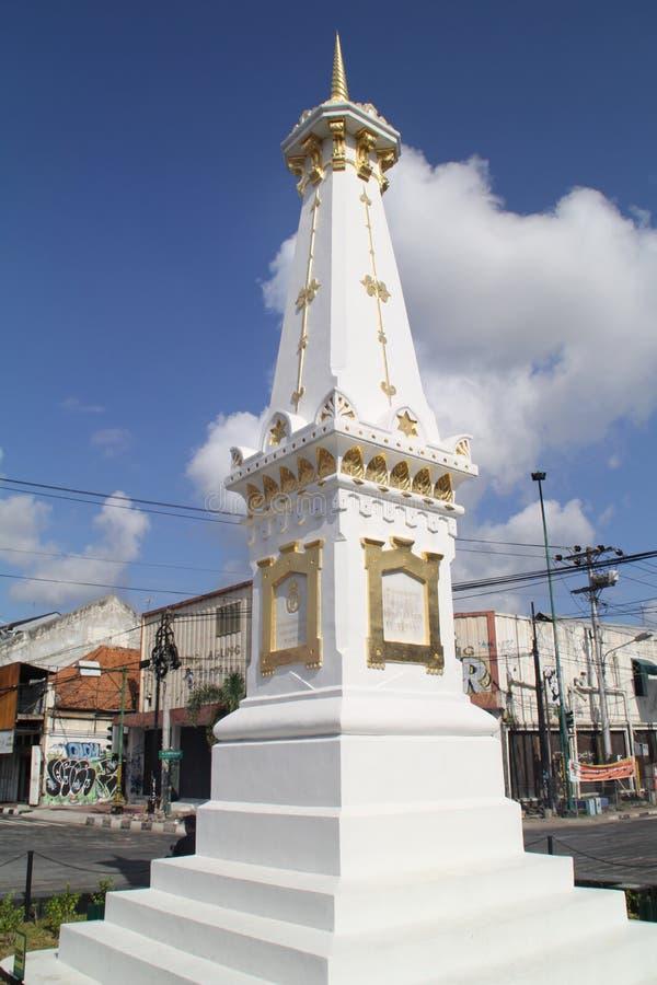 Памятник Jogjakarta стоковая фотография rf
